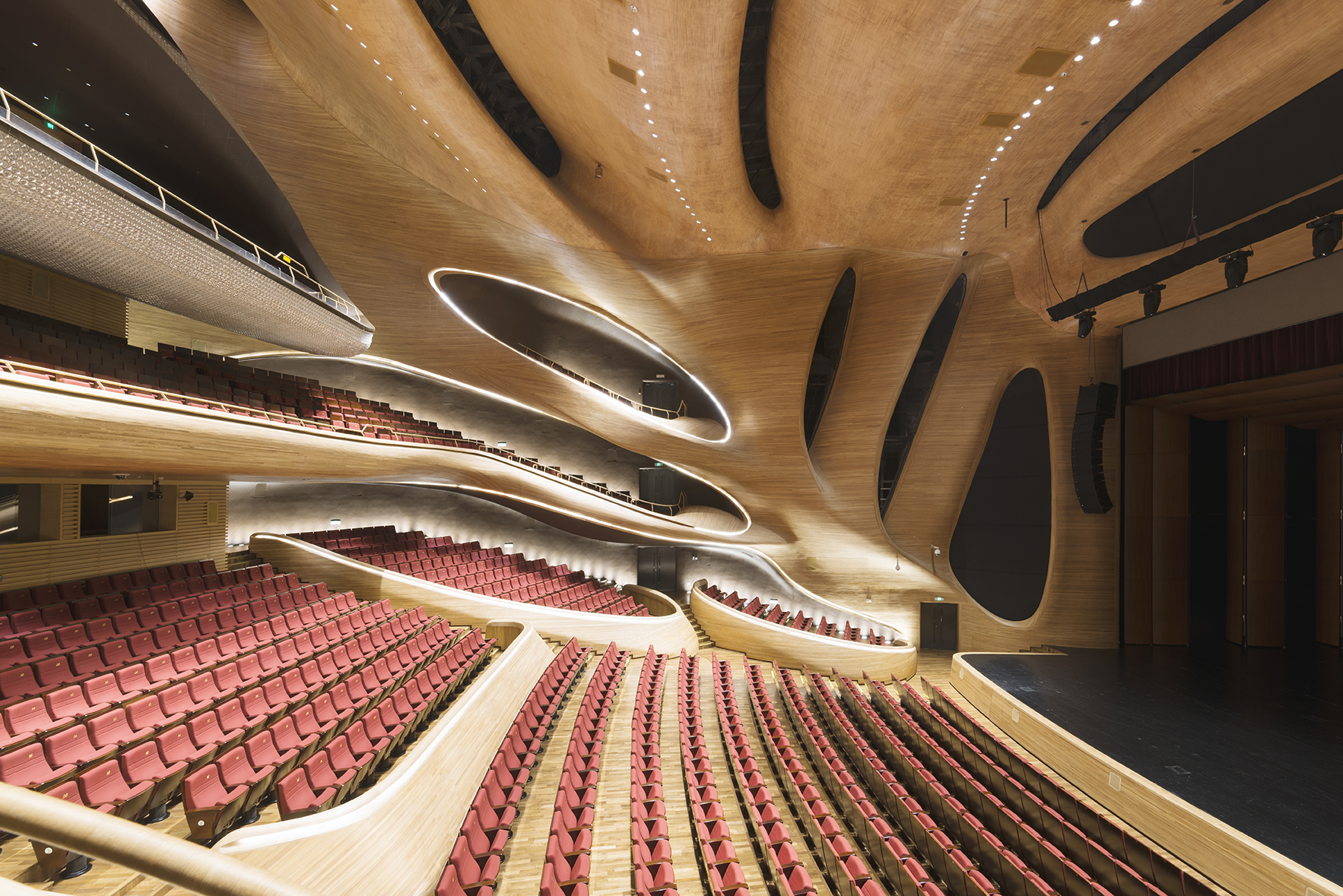 Spectacular Harbin Grand Theatre in China