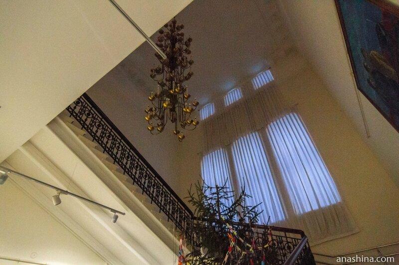 Лестница музея, Рыбинск