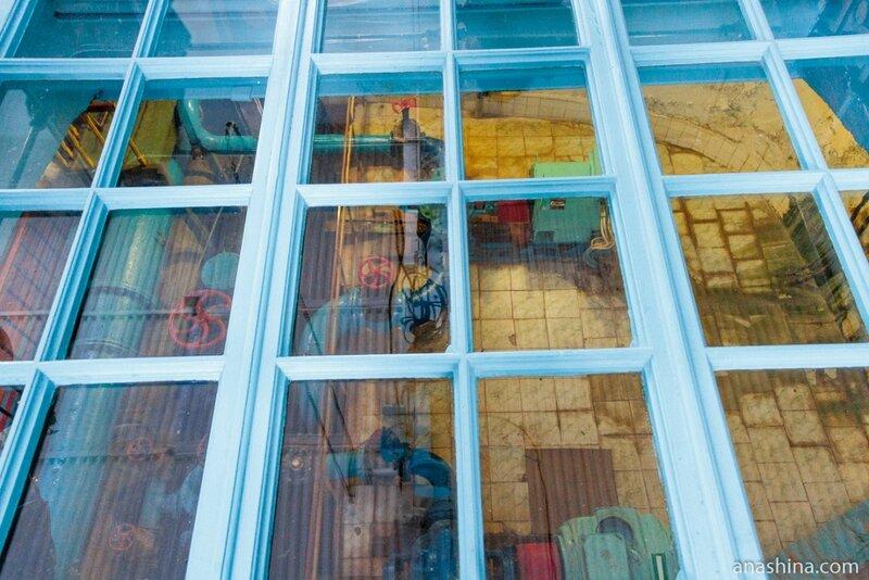 Световые окна, Мытищинская насосная станция
