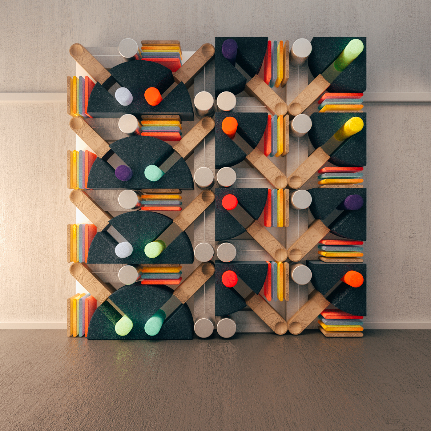 Playful and Colourful Patterns Artworks