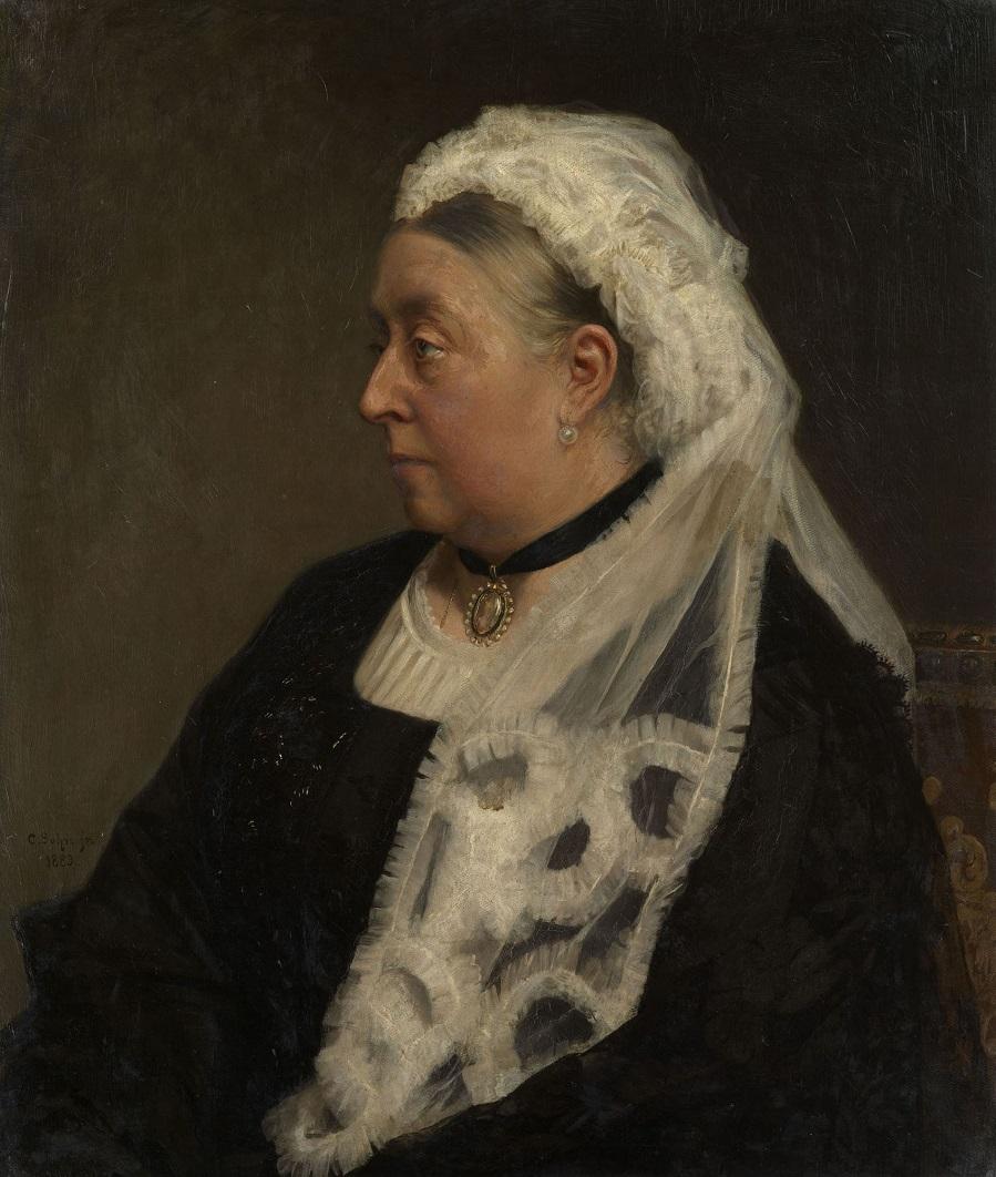 Queen Victoria (1819-1901).