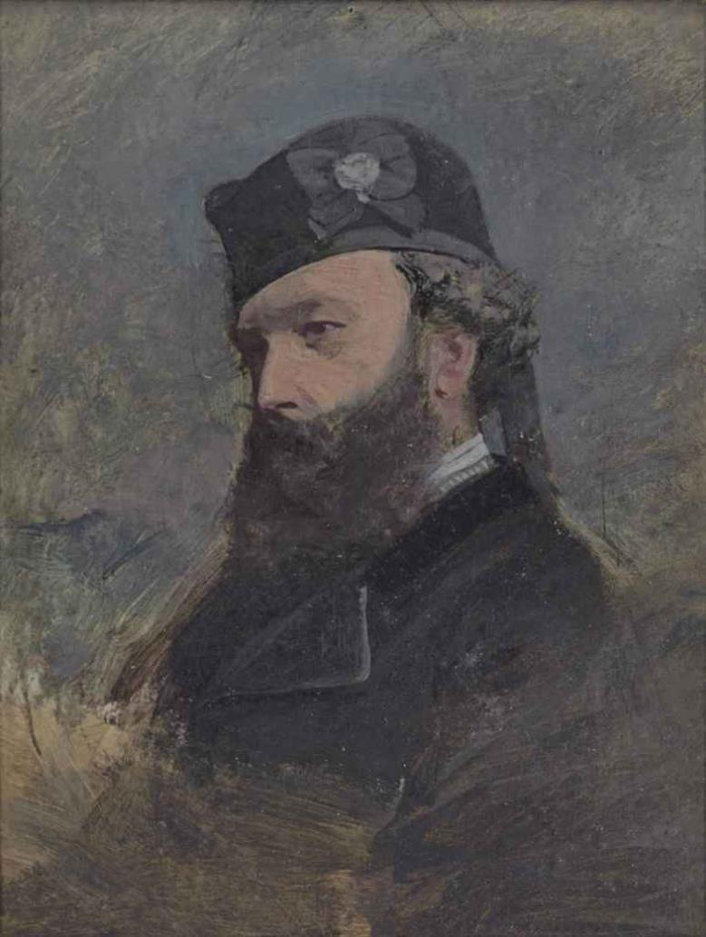 Джон Браун, преданный слуга королевы Виктории, 1874.