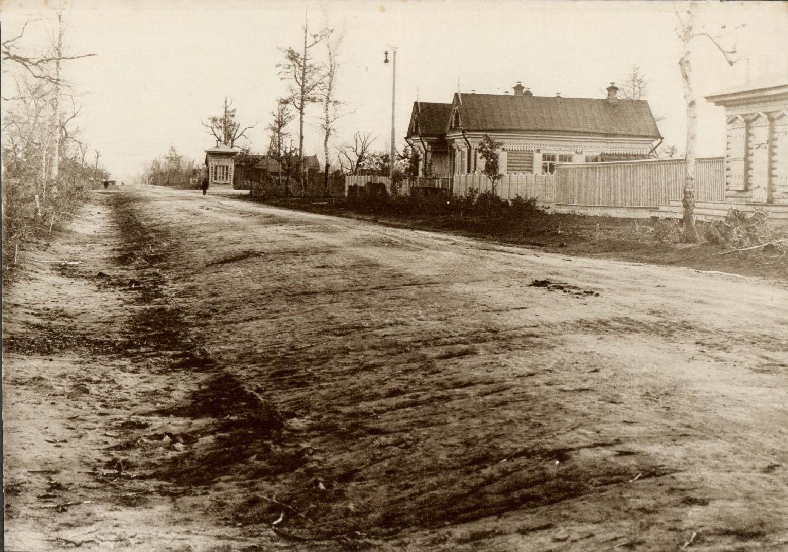 Канцелярия и квартира Заведующего городом и крестьянского начальника.