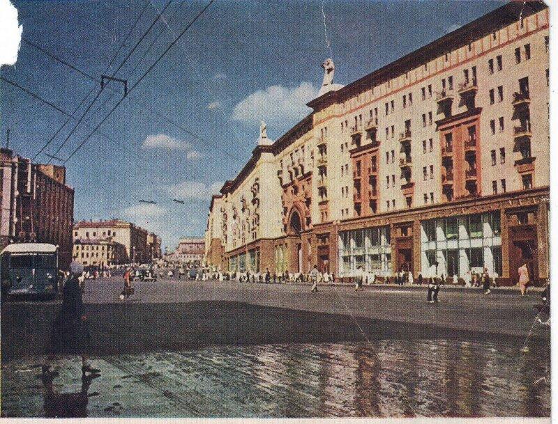 1939 Улица Горького после дождя (д. 4).jpg