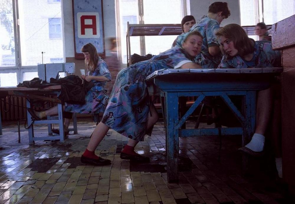Россия 90-х на снимках французского фотографа