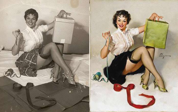 Как на самом деле выглядели девушки, позировавшие для самых известных пин-ап-постеров
