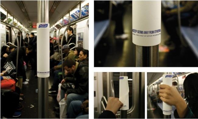 © Purell      3. Рекламное агентство Quicksilver Advertising доказывает, что его с