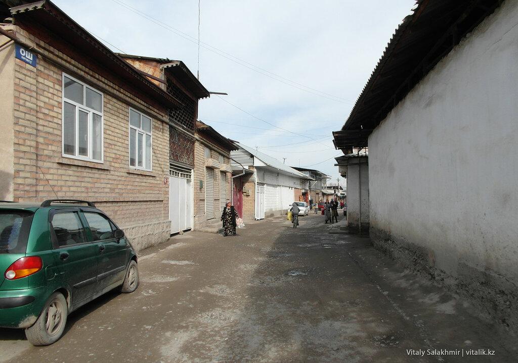 Ошская улица в Оше