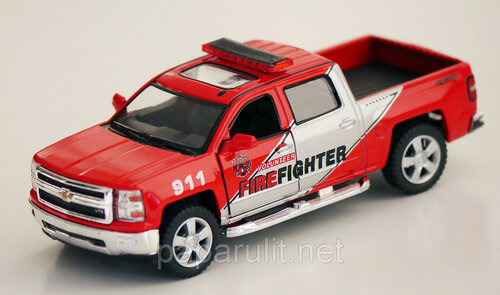 Kinsmart Chevrolet Silverado Fire Fighter