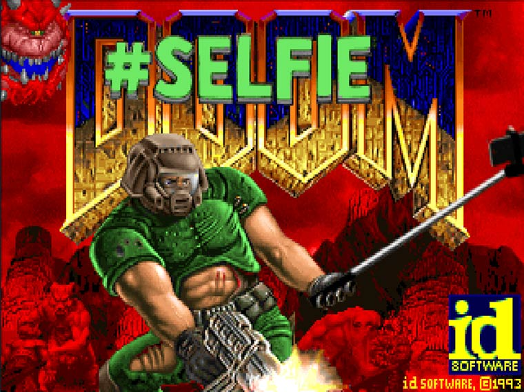 Doom Selfie – Fans add a Selfie Stick and 37 Instagram filters to the famous game