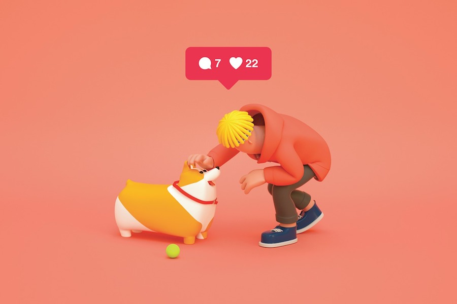 Realistic Illustrations About Social Media