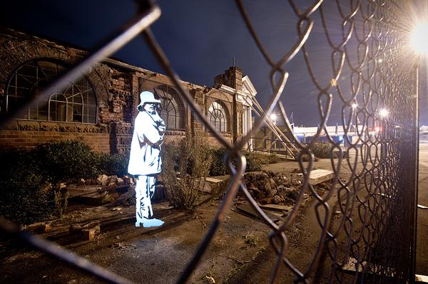 Enlightened Souls – Lightpainting - Fabrice Wittner