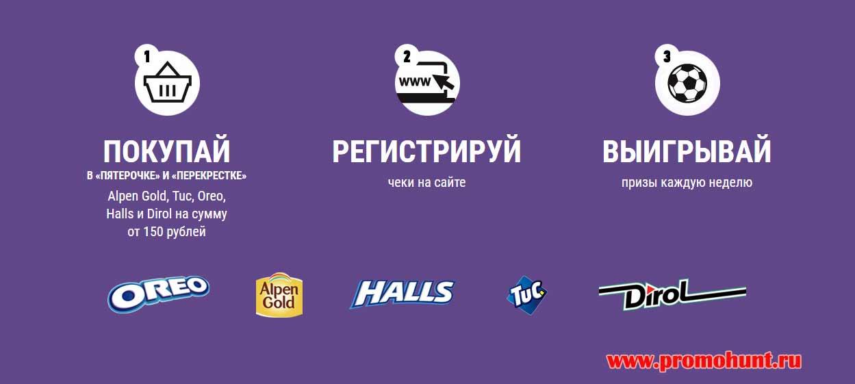 Акция Пятерочка 2018 на промо2018.рф