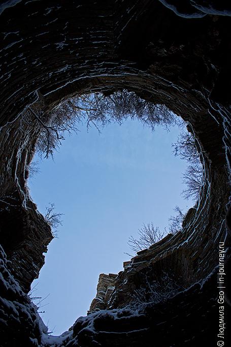 в башне крепости Копорье