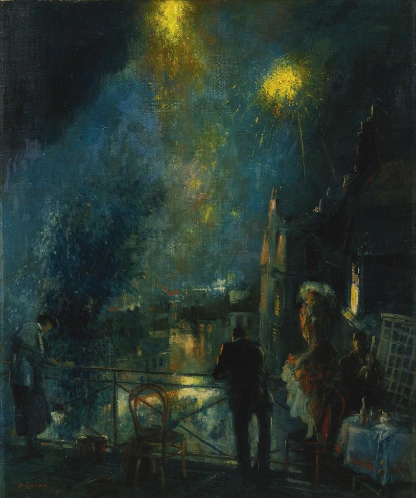 1930 День взятия Бастилии 14 июля, Париж (Bastille Day, 14th Of July, Paris)