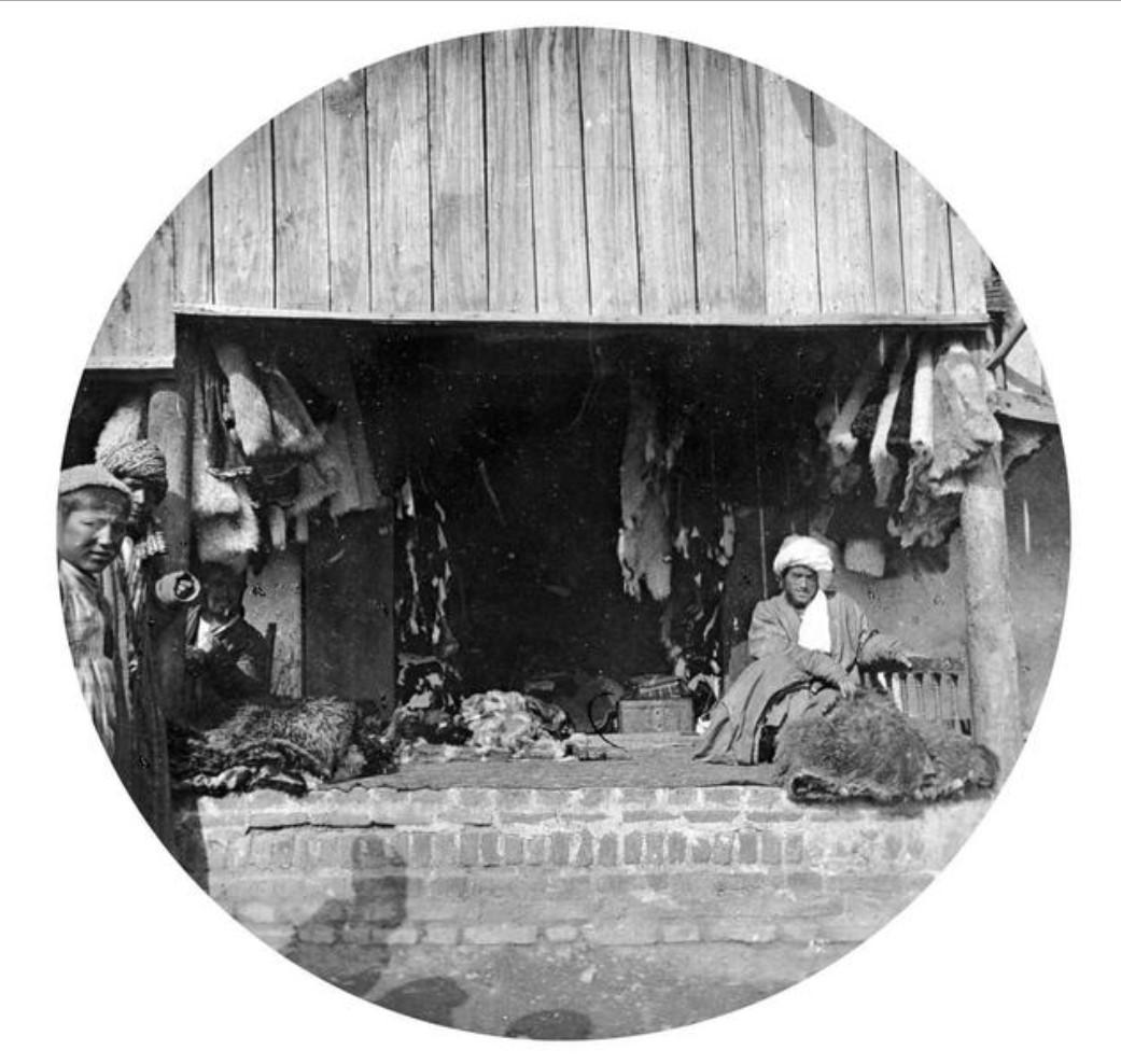 Магазин торговца мехом