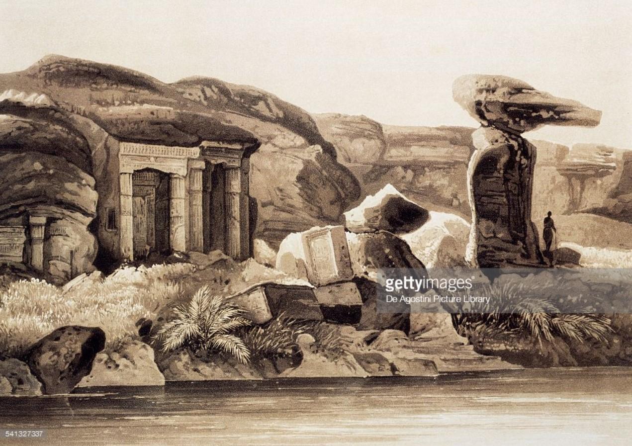 1841. Песчаный карьер в Гебель-Эль-Сильсиле