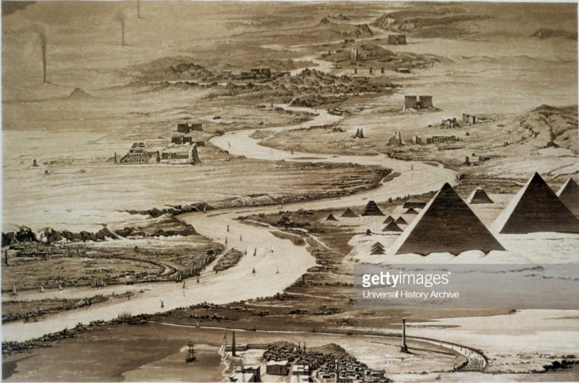 1841. Пирамиды