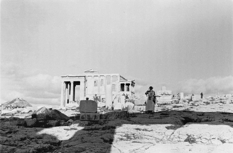 Акрополь. Вид на Эрехтейон