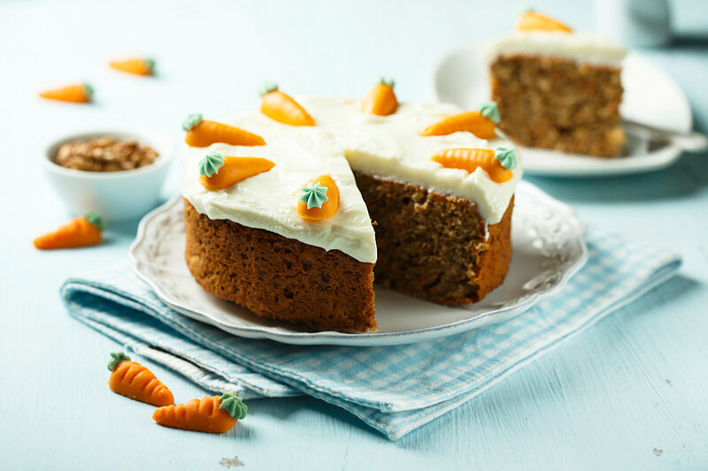 Морковный пирог с грецкими орехами. добавить, цедра, смешать, тесто, сахарной, пудры, порубить, взбить, орехом, мускатным, корицей, имбирем, цедрой, разрыхлителем, сливочного, ножом, затем, Морковь, остывать, сахаром