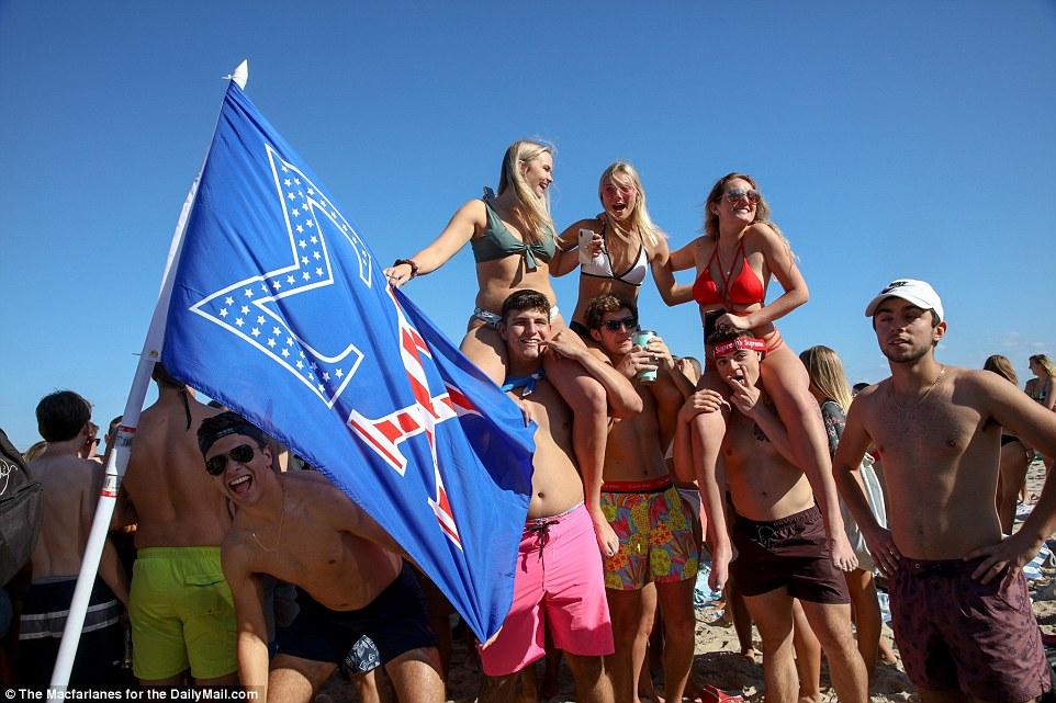 Алкоголь, наркотики и секс на пляже: весенние каникулы во Флориде