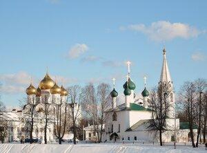 Успенский собор и церковь Николы Рубленого