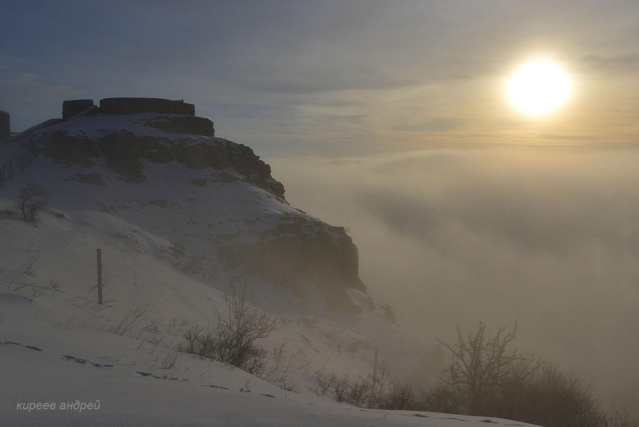 Ай-Петри. Зима 2018.