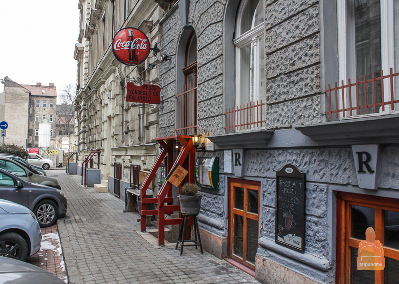 Regős Vendéglő ресторан в Будапеште