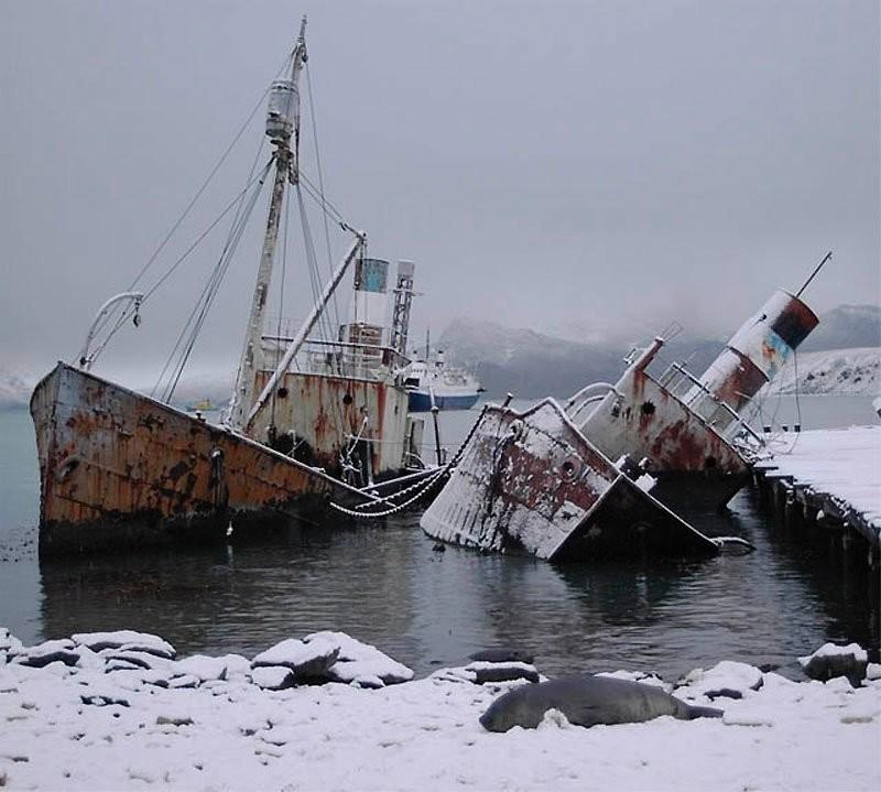 0 182c11 edbf1e9a orig - На мели: фото брошенных кораблей