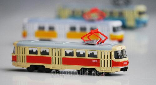 Трамвай масштабная модель