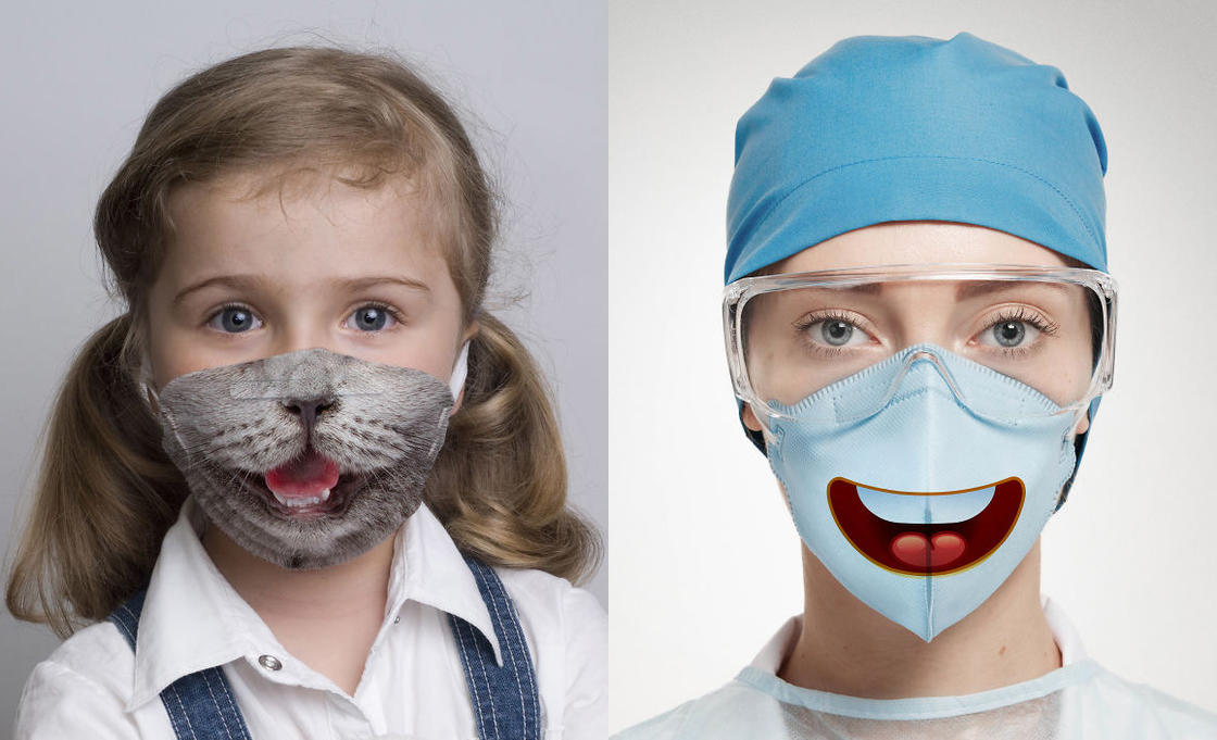 These funny surgical masks will help children to live better the hospital (16 pics)