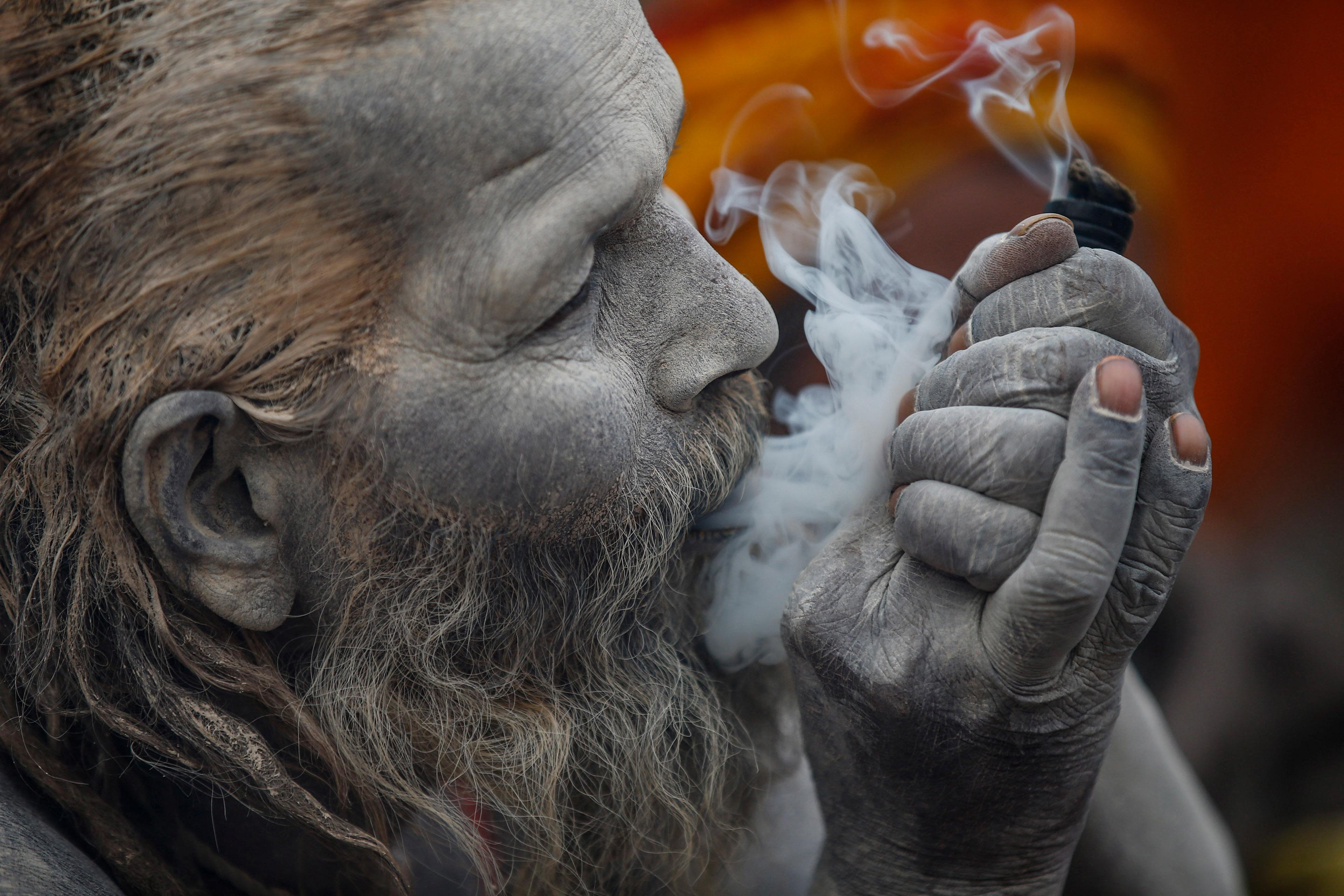 Solemn Portraits from the Maha Shivaratri Festival