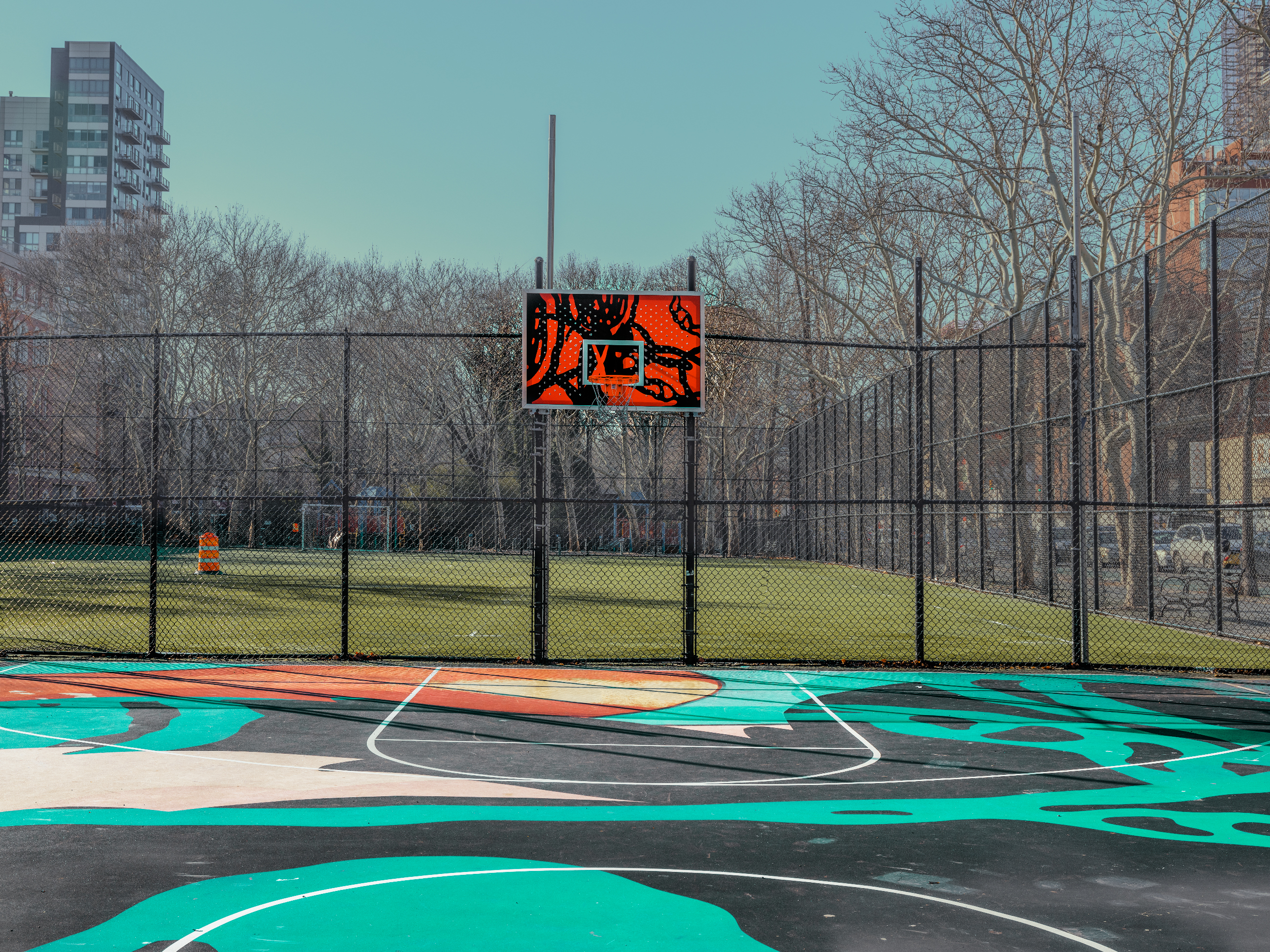 Charming Details of New York City Basketball Courts