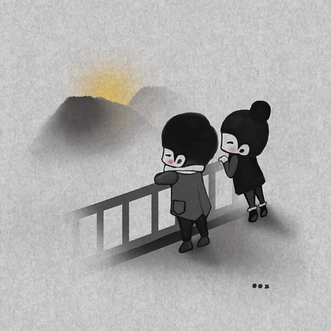 Sweet Love – Elle illustre l'amour dans les petits moments du quotidien