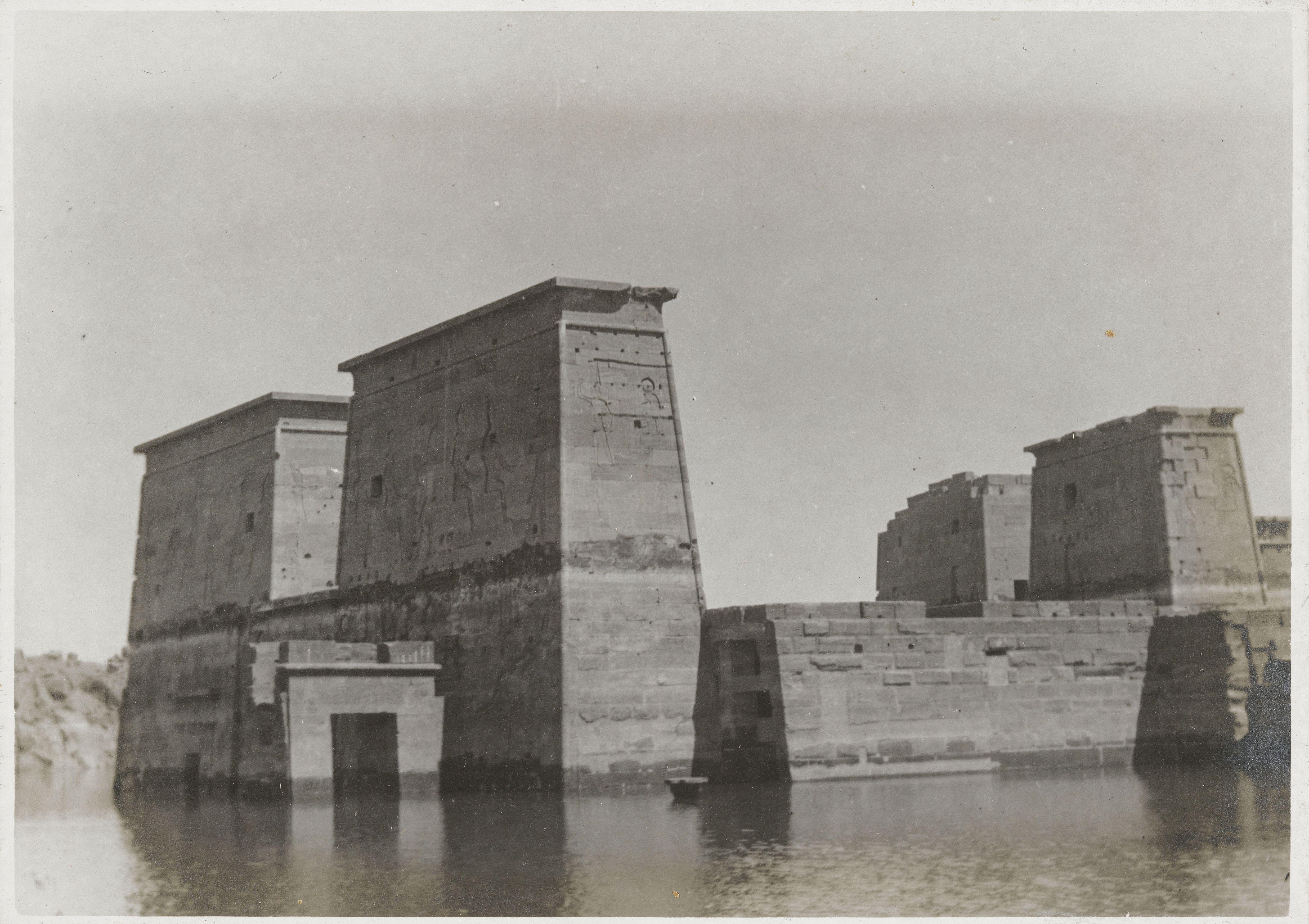 Филе. Храм Исиды, построенный во время Птолемеевского периода