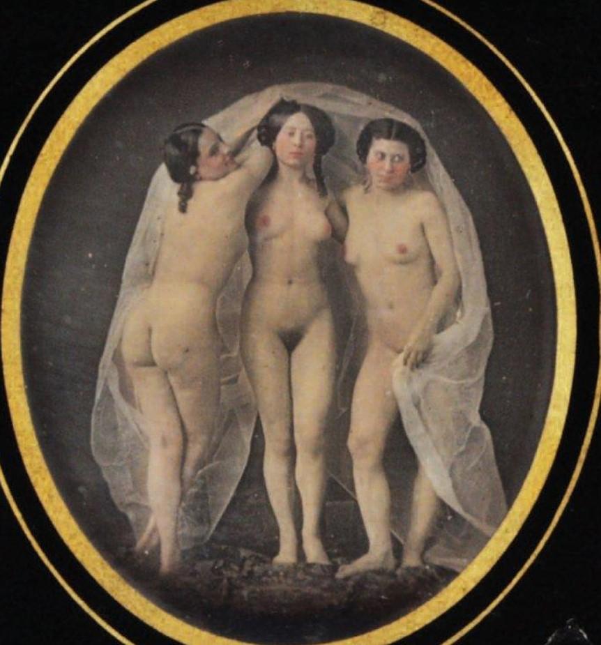 1850. Три грации