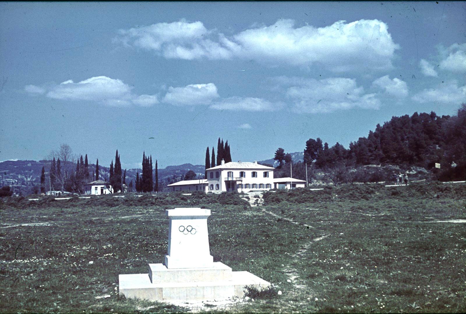 Олимпия. Мемориальный камень