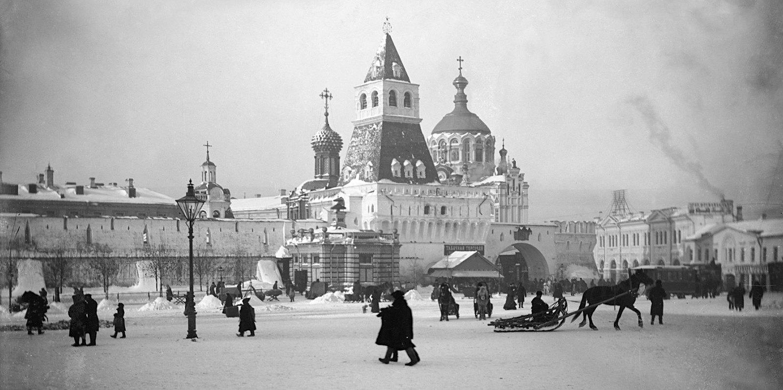 Лубянская площадь. 1892