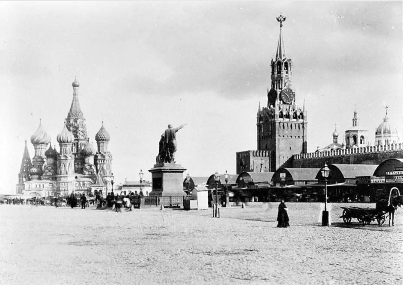 Красная площадь.1886