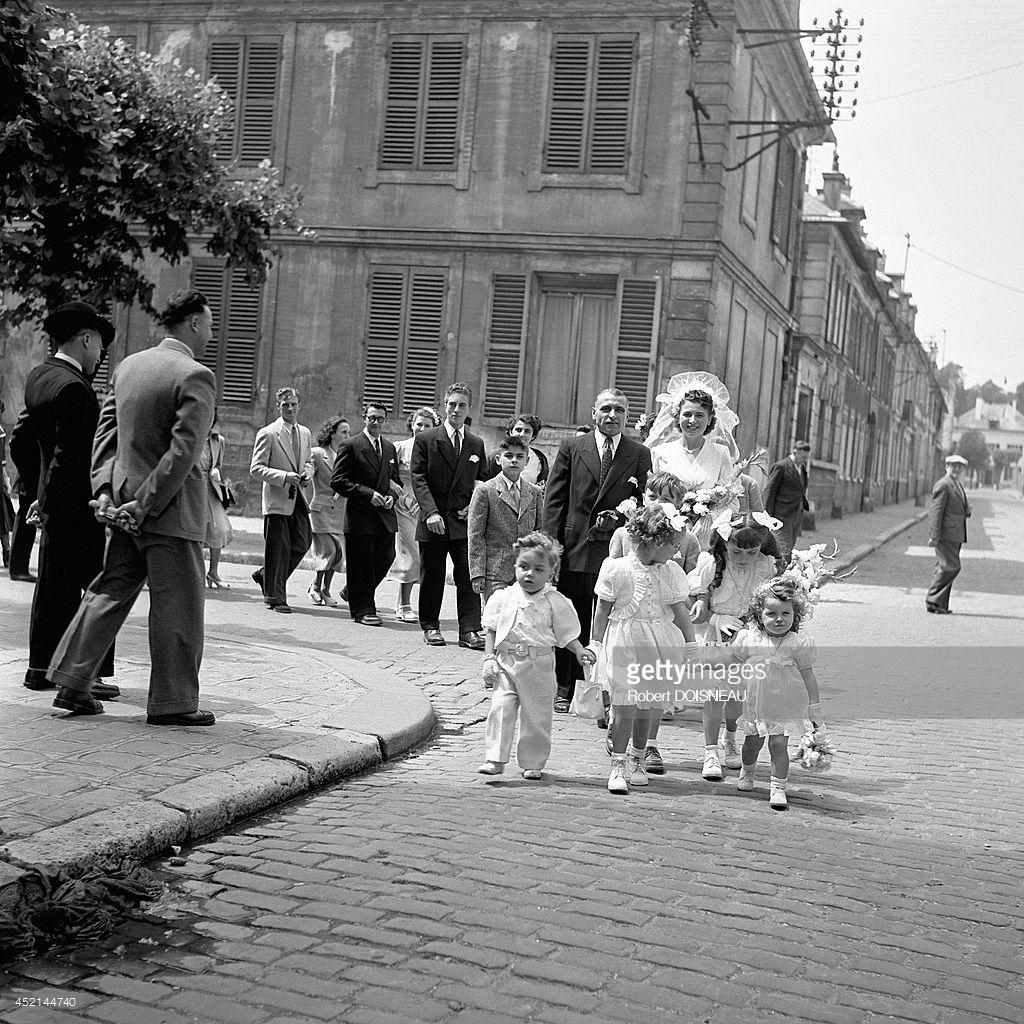 1949. Свадьба Дениз 20 июня в Шуази-ле-Рои