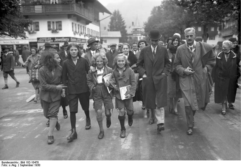 Oberammergau, Henry Ford bei Passionsspielen
