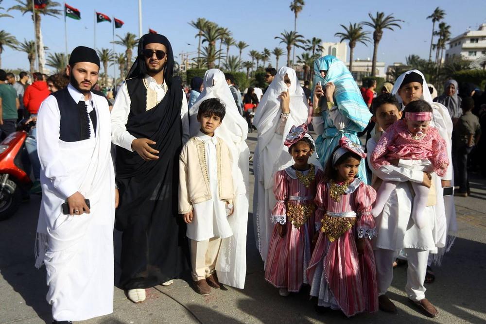 Фестиваль традиционного национального костюма в Ливии