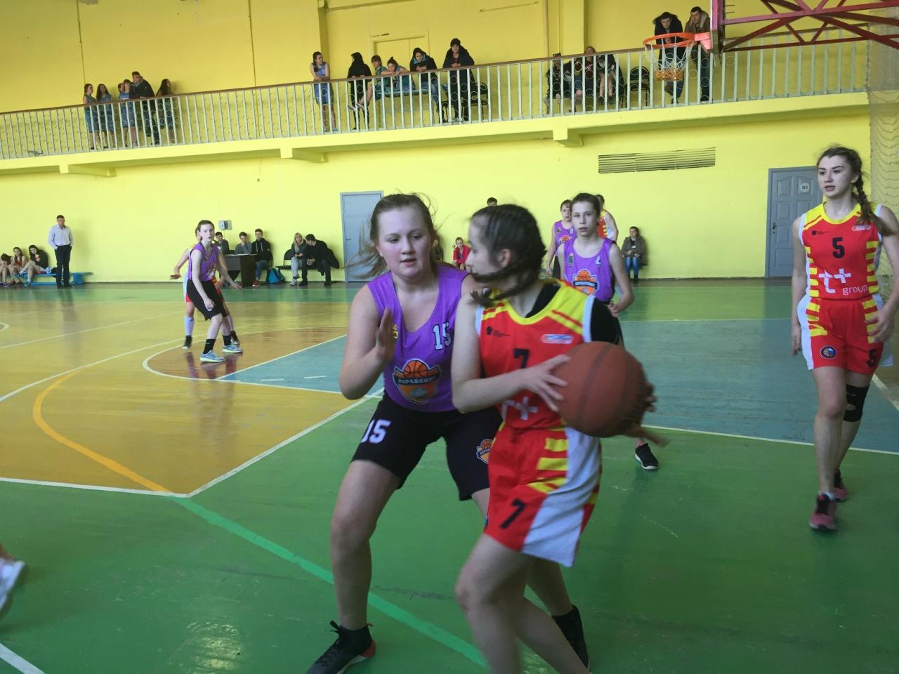 Баскетболистки района приняли участие в турнире
