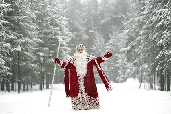 Открытки. День рождения Дедушки Мороза. Поздравляем вас!