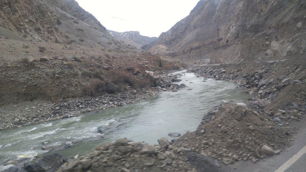Горная река Таджикистан