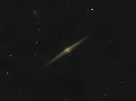 """Галактика  NGC 4565 """"Игла"""", вариант цвета."""