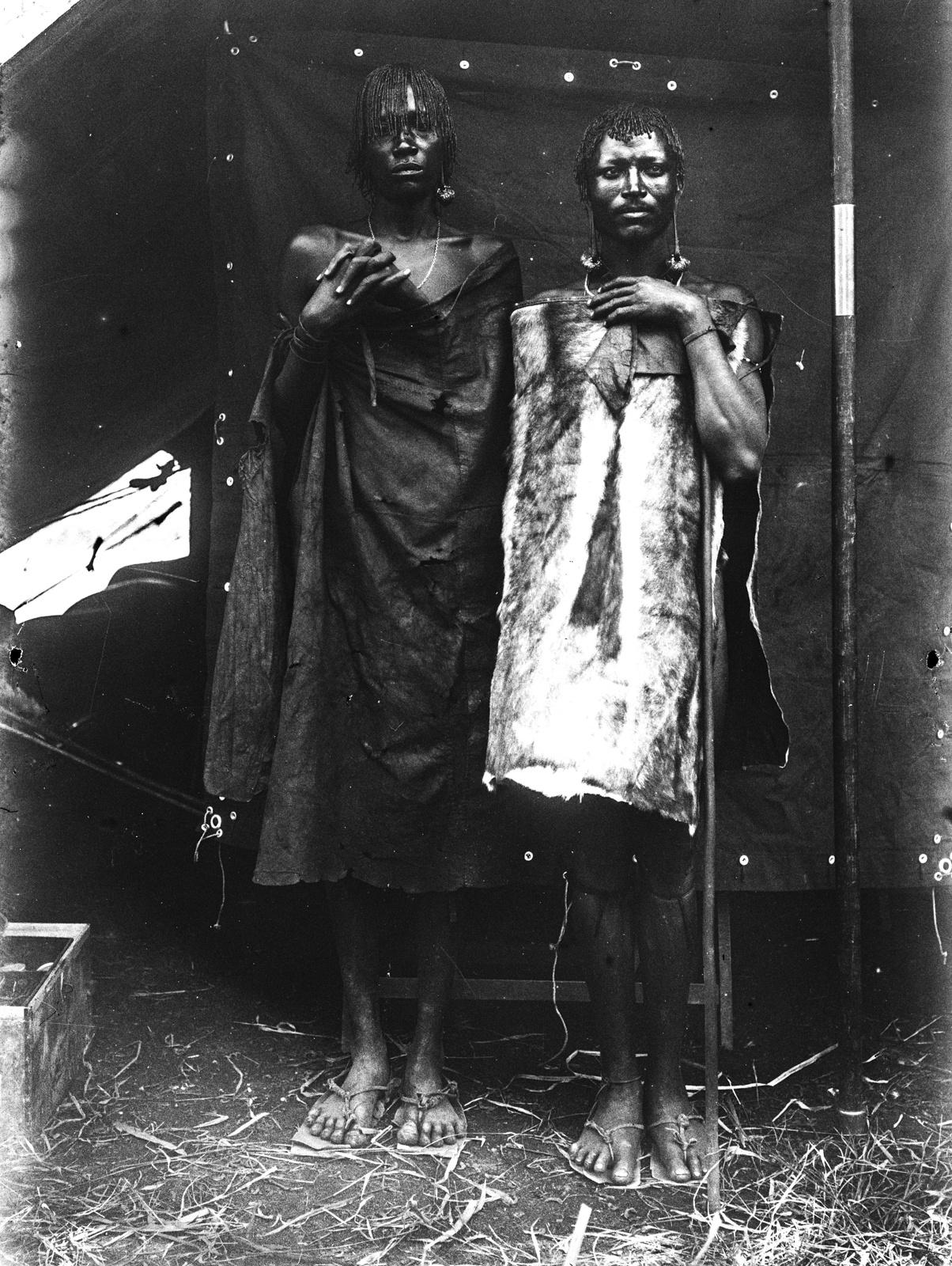 205. Портрет двух мужчин босонжо