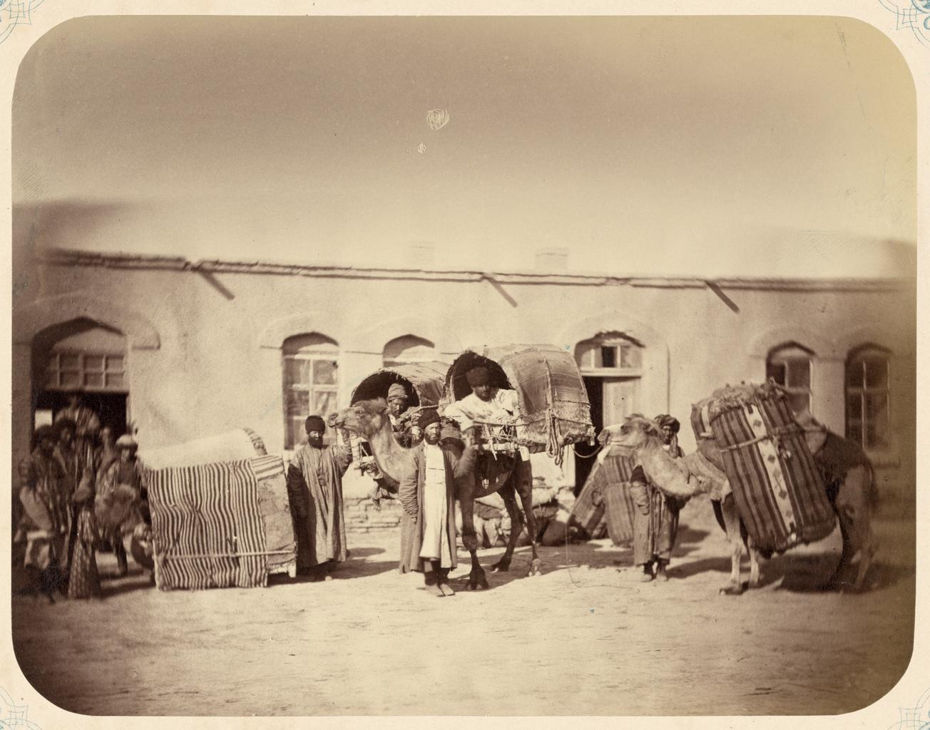 Приезд евреев из Бухары в Казалинск