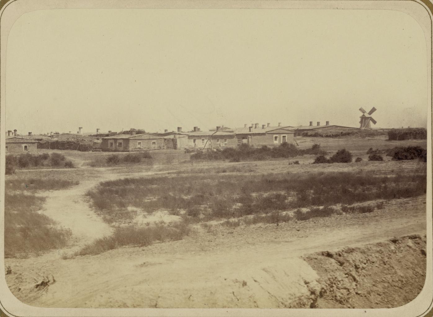 Русская слободка в укреплении Казалинск (Форт № 1)
