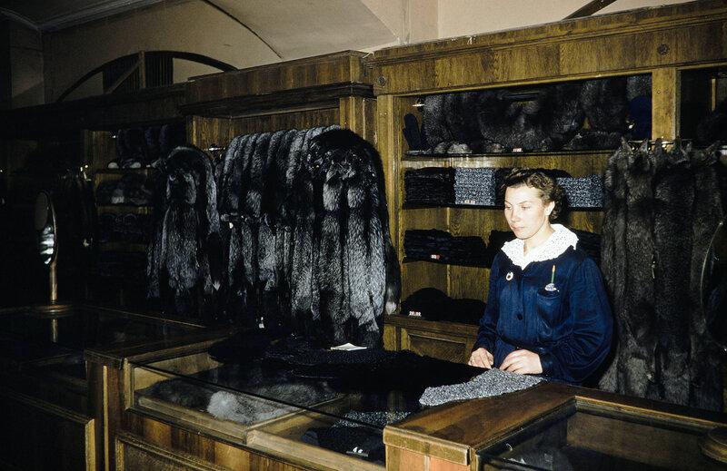 Советские товары 1959 г. на снимках Харрисона Формана. Часть 11